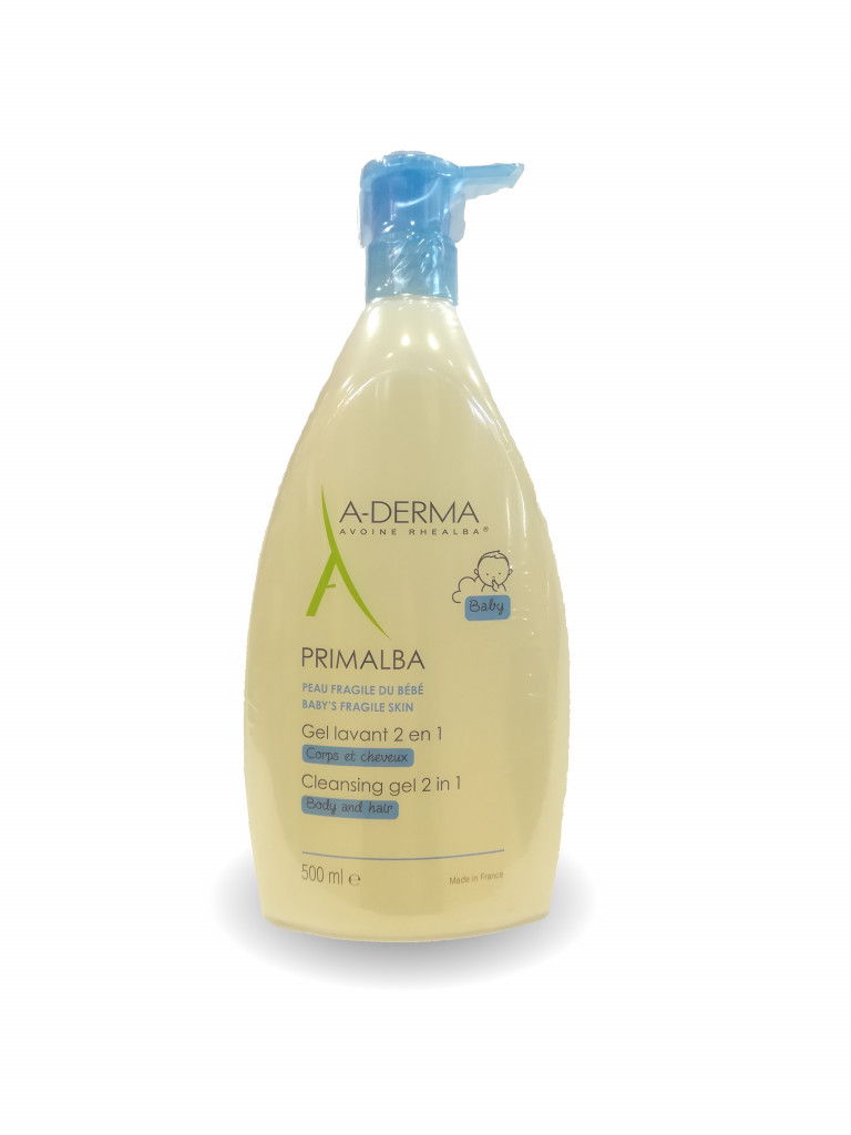 A-DERMA PRIMALBA GEL LAVANTE 2 in 1 500 ML