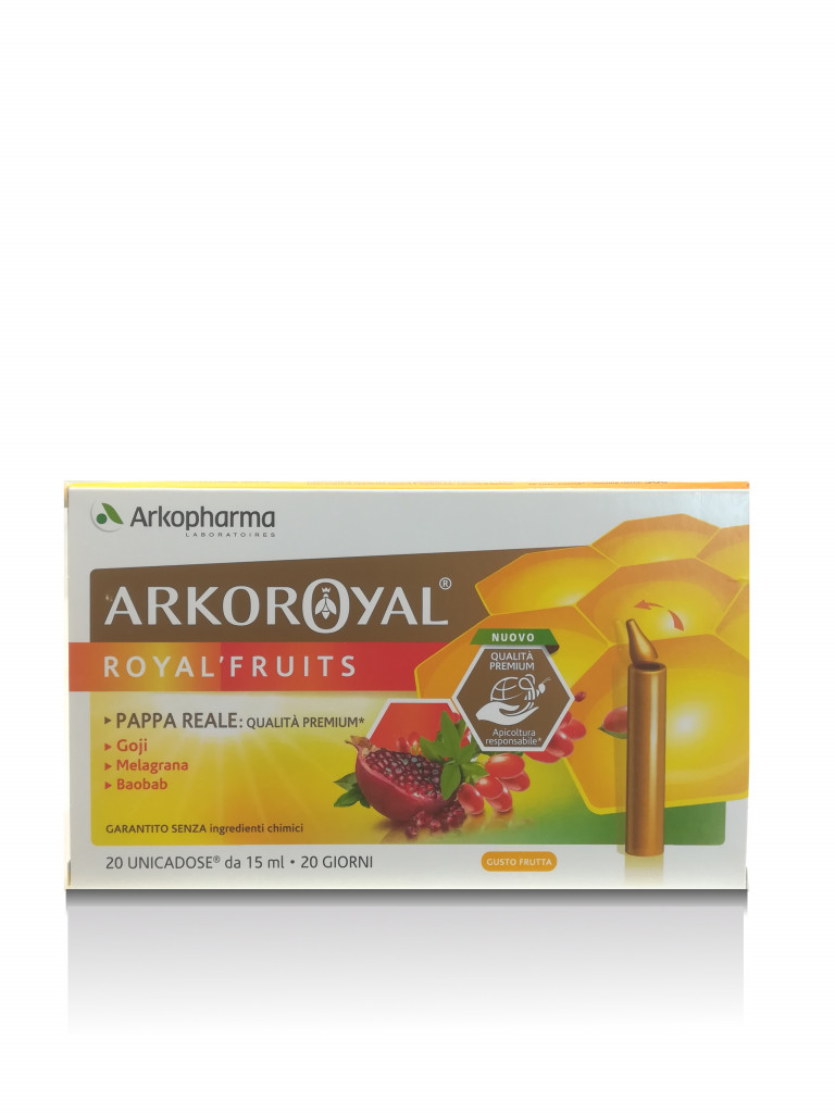 ARKOROYAL ROYAL FRUITS 20 UNICADOSE