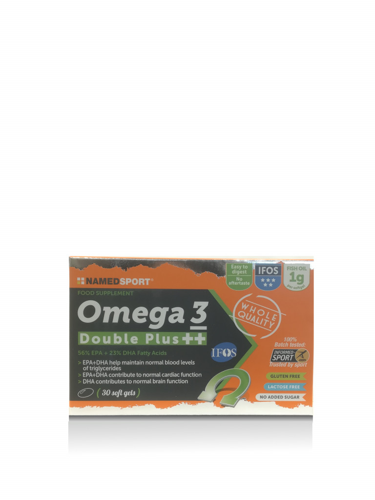 NAMEDSPORT OMEGA 3 DOUBLE PLUS 30 SOFTGEL