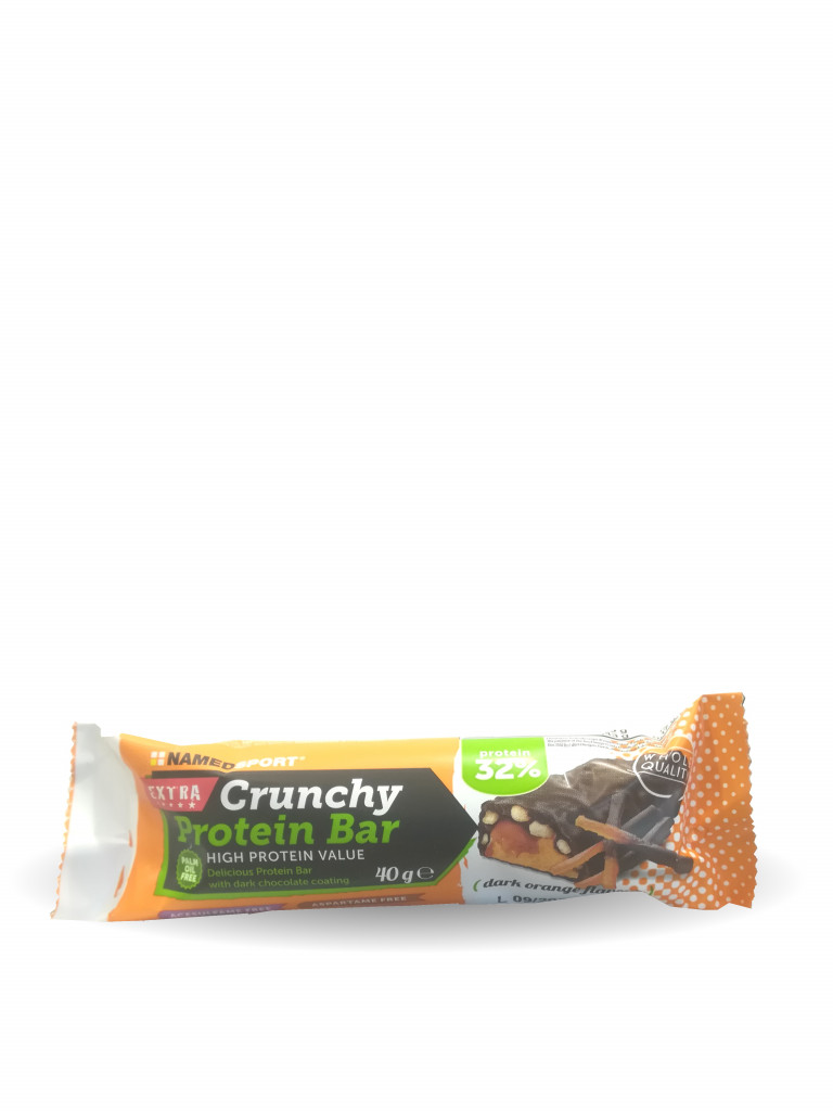 CRUNCHY PROTEIN BAR DARK ORANGE 40 G