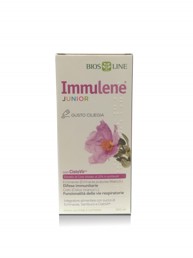 BIOSLINE IMMULENE JUNIOR SCIROPPO 200 ML